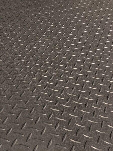 Raised Diamond Plate Vinyl Flooring