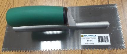 Barwalt 71071 U Notch Trowel