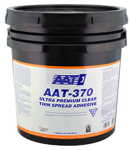 Aat 370 Clear Thin Spread Tile Adhesive Floor Source And