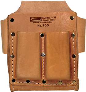 5 Pocket Leather Tool Pouch
