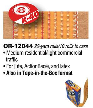 Orcon K-40 Seam Tape