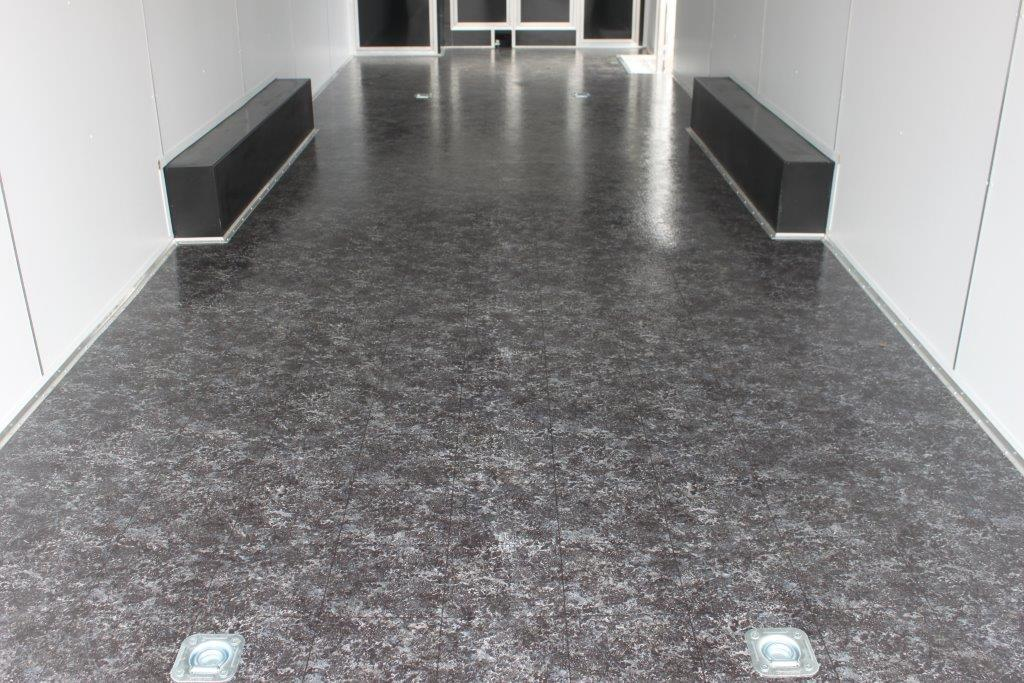 Black marble sheet vinyl 53825 floor source and supply for Black vinyl floor tiles