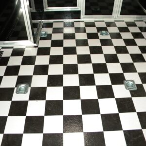 Checkerboard Sheet Vinyl Narrow Width
