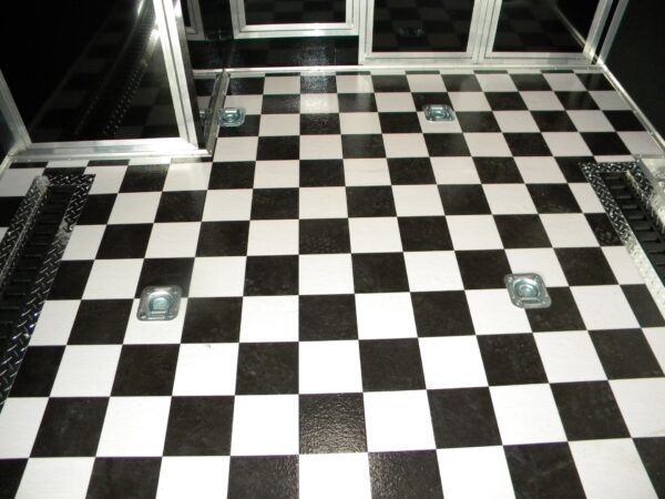 Checkerboard Sheet Vinyl 53046