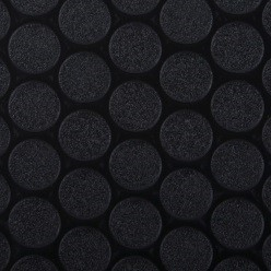 Black Small Raised Coin Vinyl Flooring
