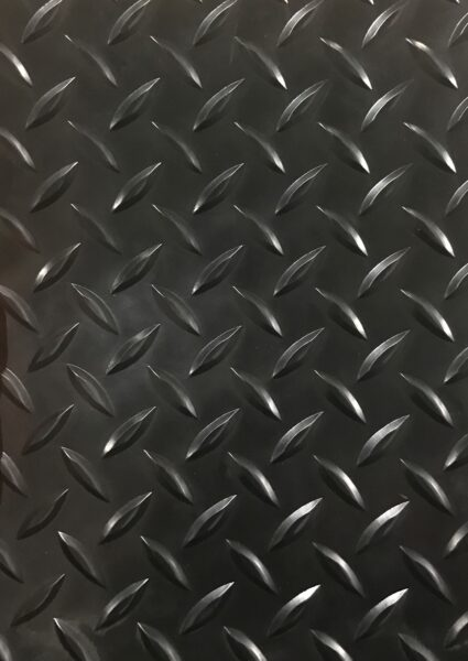 Raised Diamond Plate Vinyl Flooring