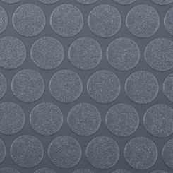 Grey Small Raised Coin Vinyl Flooring