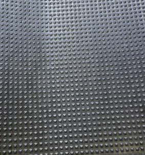 Pyramid Design Black Flooring 48 inch Width