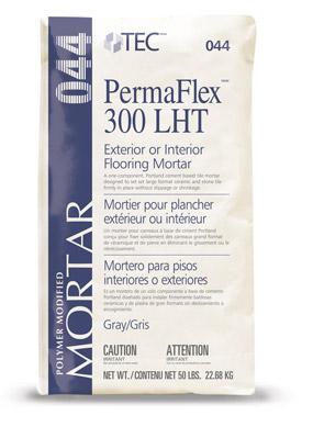 Tec Permaflex 300 LHT Mortar