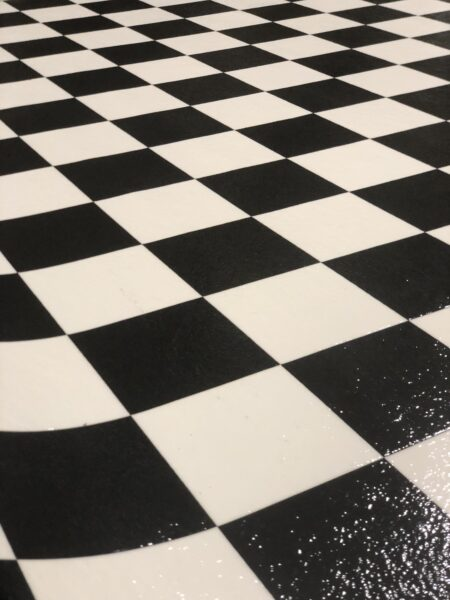 Checkerboard Sheet Vinyl 53046 Floor
