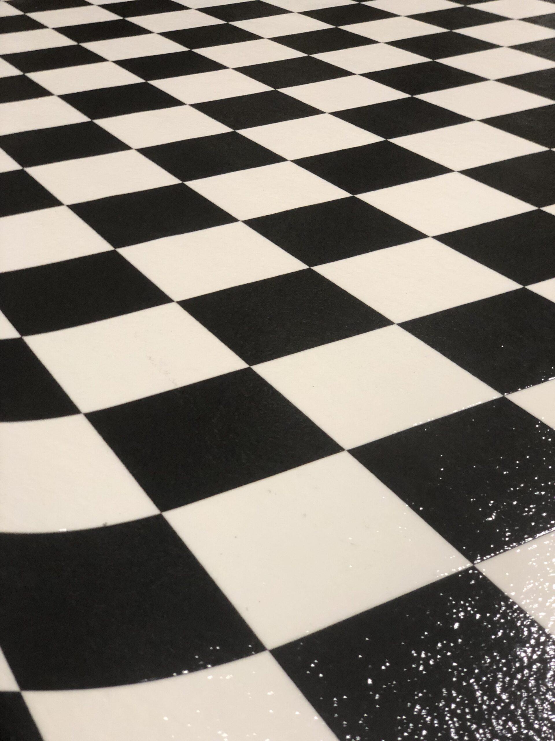 Checkerboard Sheet Vinyl 8 4 Wide Floor Source And Supply
